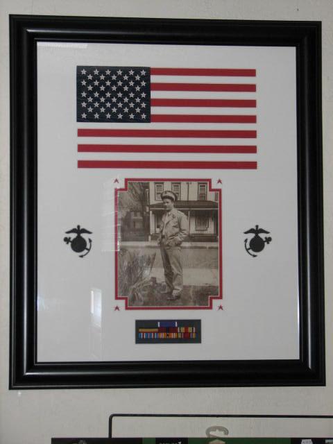 Sam Sherwood US Marine Corp WWll Battle Pelilue