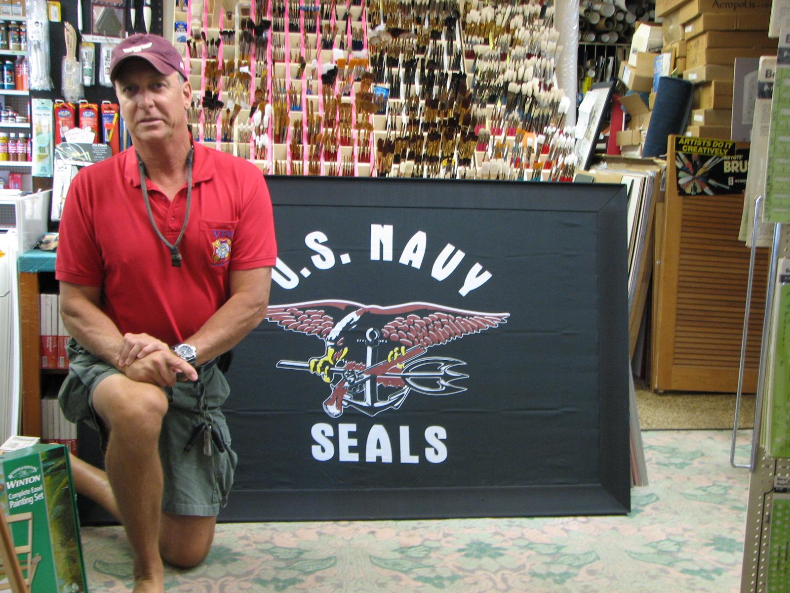 navy Seal team member