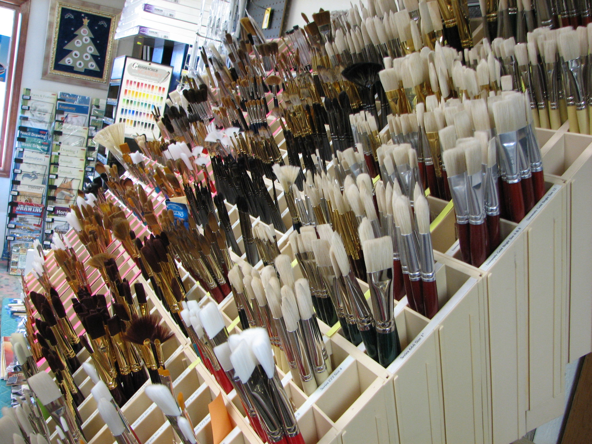 Brushes for every medium and every price