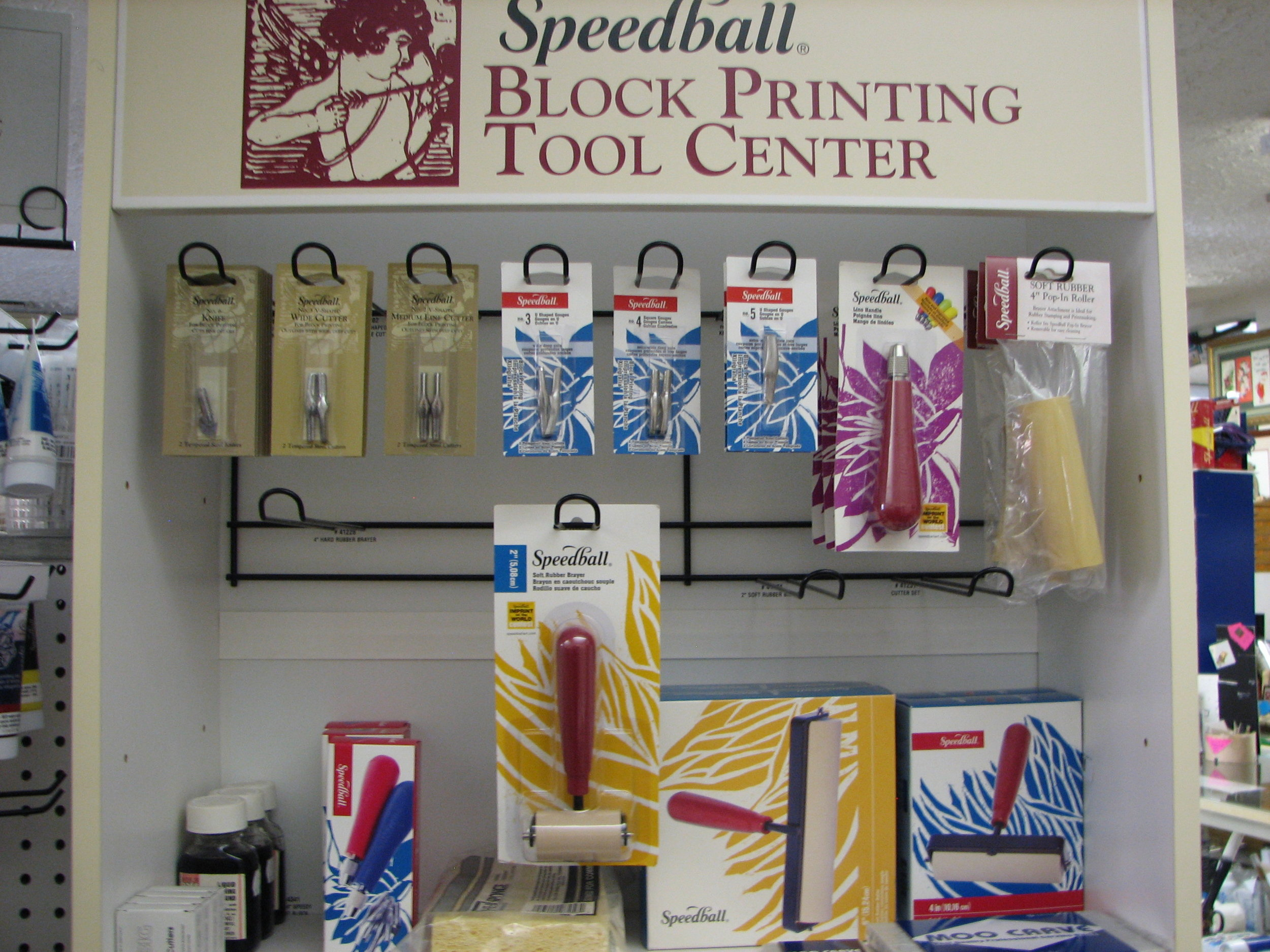 Block printing and Silkscreen supplies