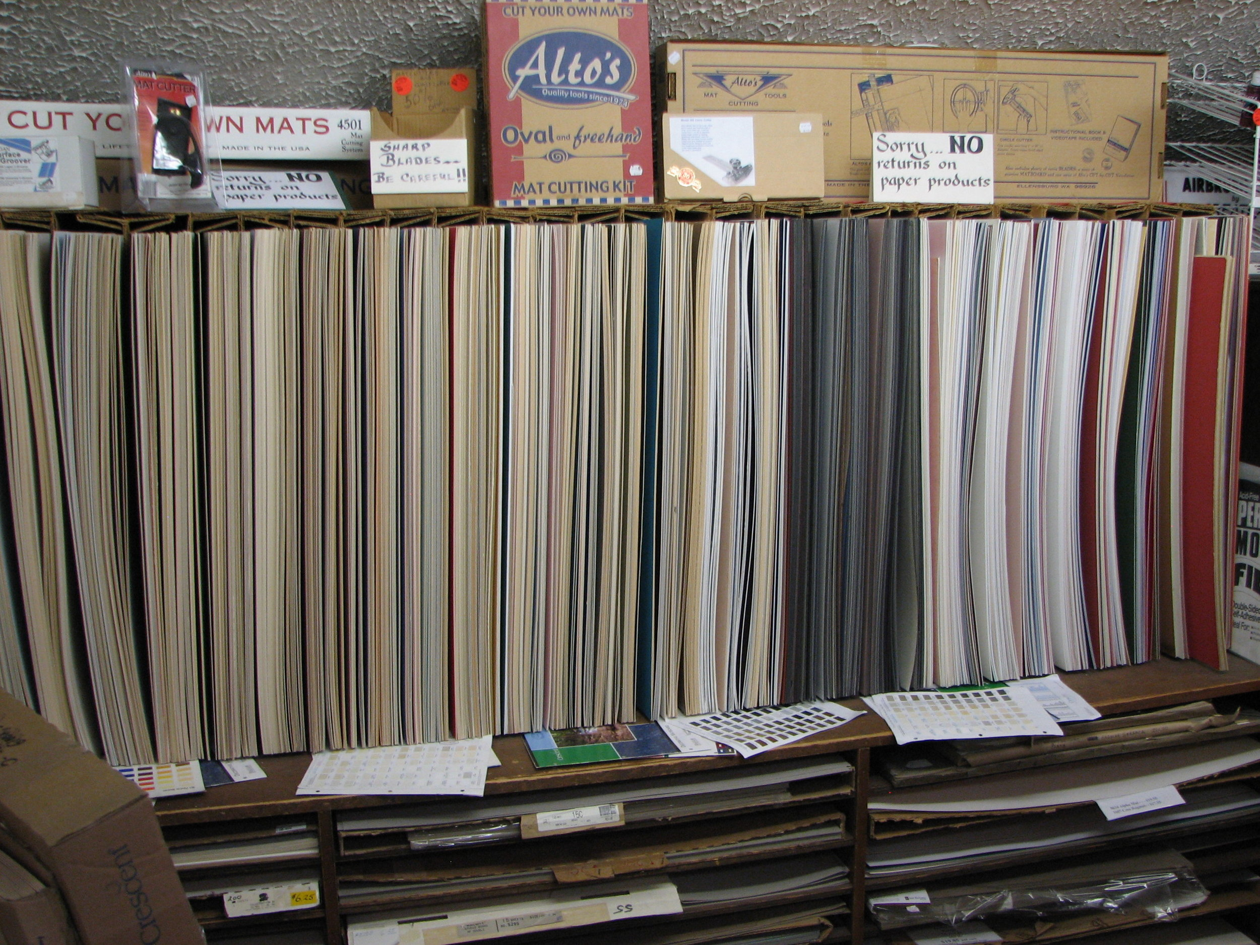 Mat Boards and Illustration Boards