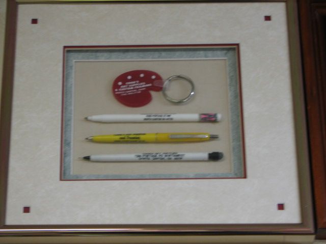 Cook's Art Supply & Framing Advertising Memorabilia from the 1980's