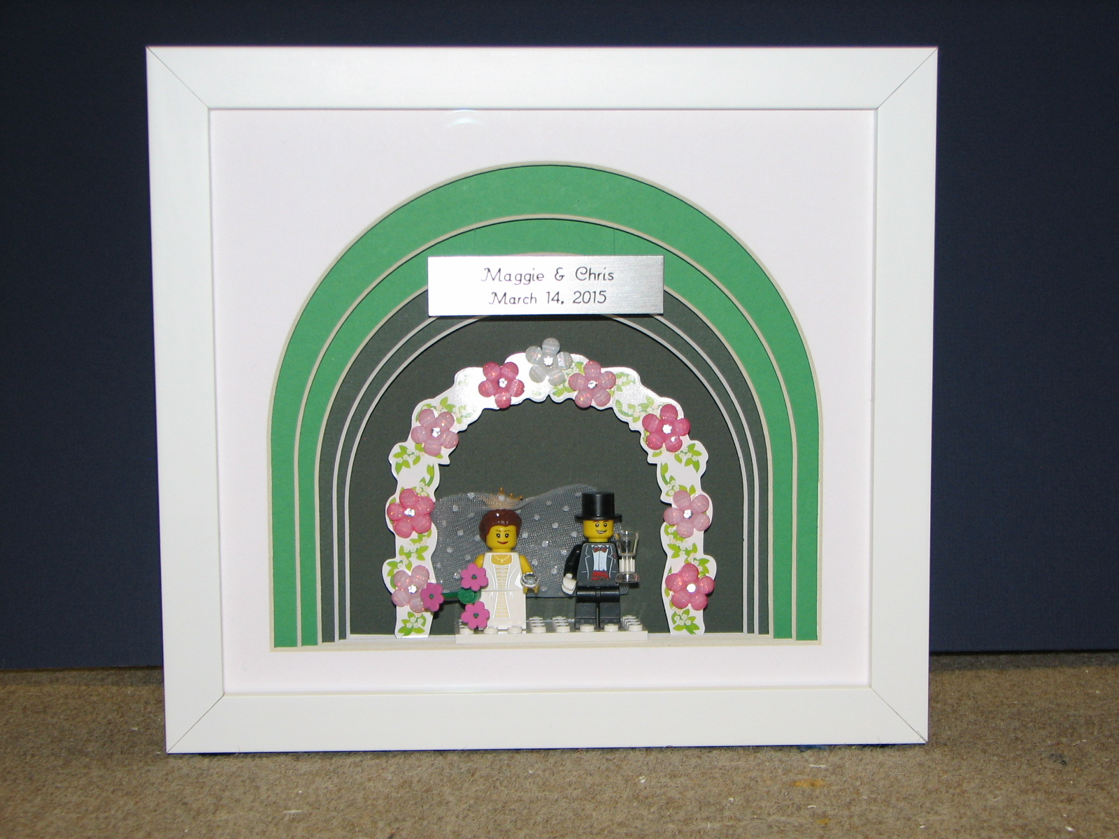 Lego wedding gift for Bride and Groom