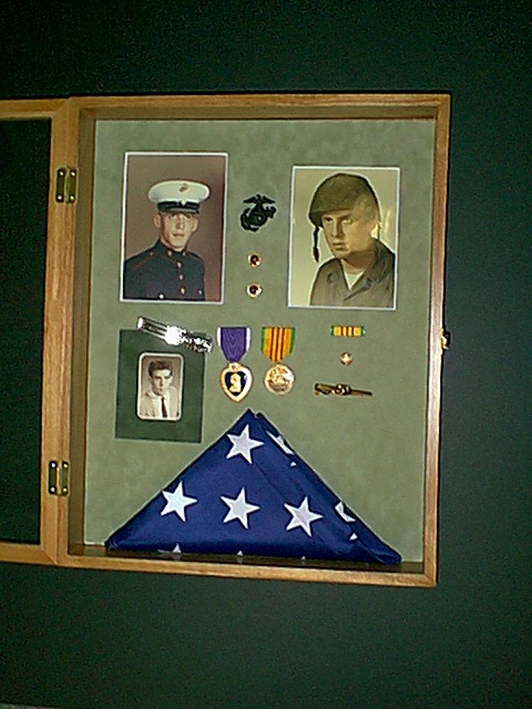 Marine Shadow Box