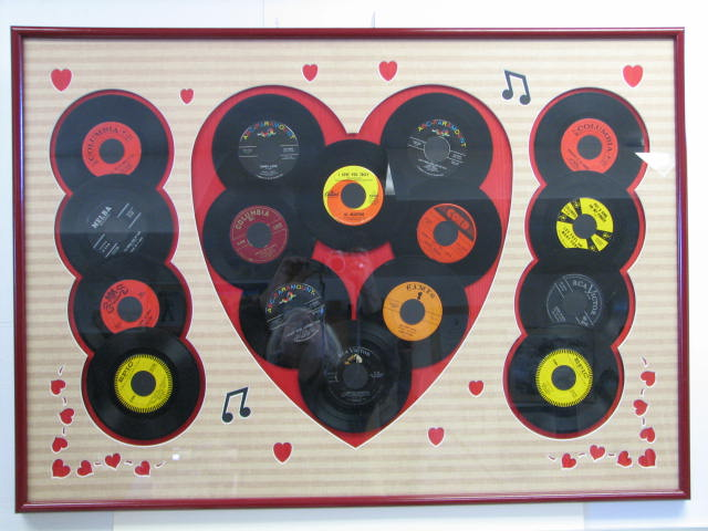 Love Songs on 45RPM' records