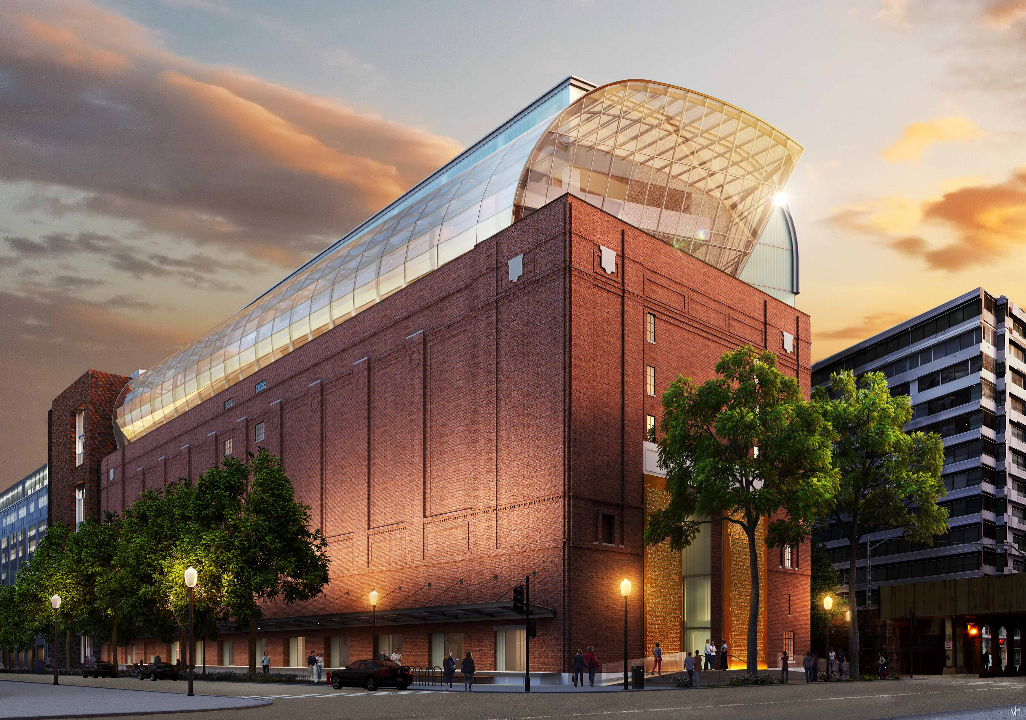 Rendering of the 430,000 Museum of the Bible, currently under construction, and just 3 blocks south of the US Capitol.