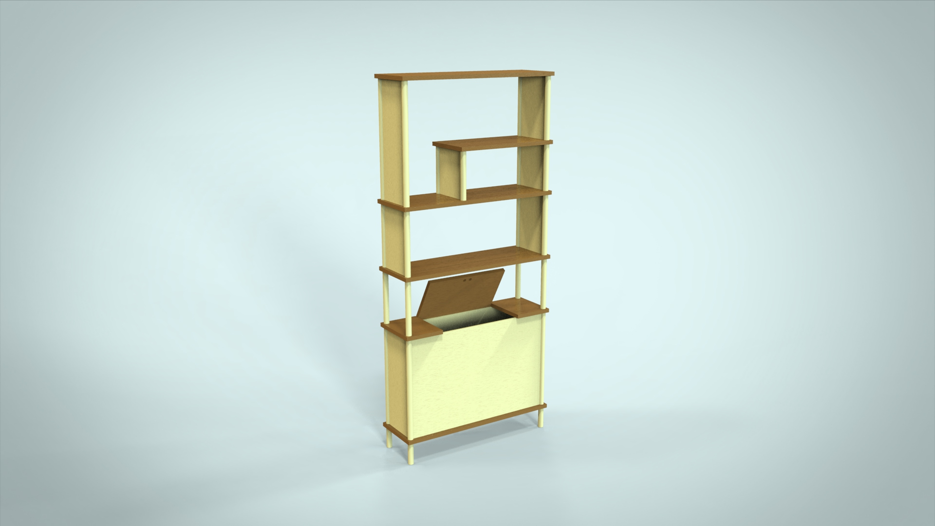 Konisa Studio - Union Bookshelf Design