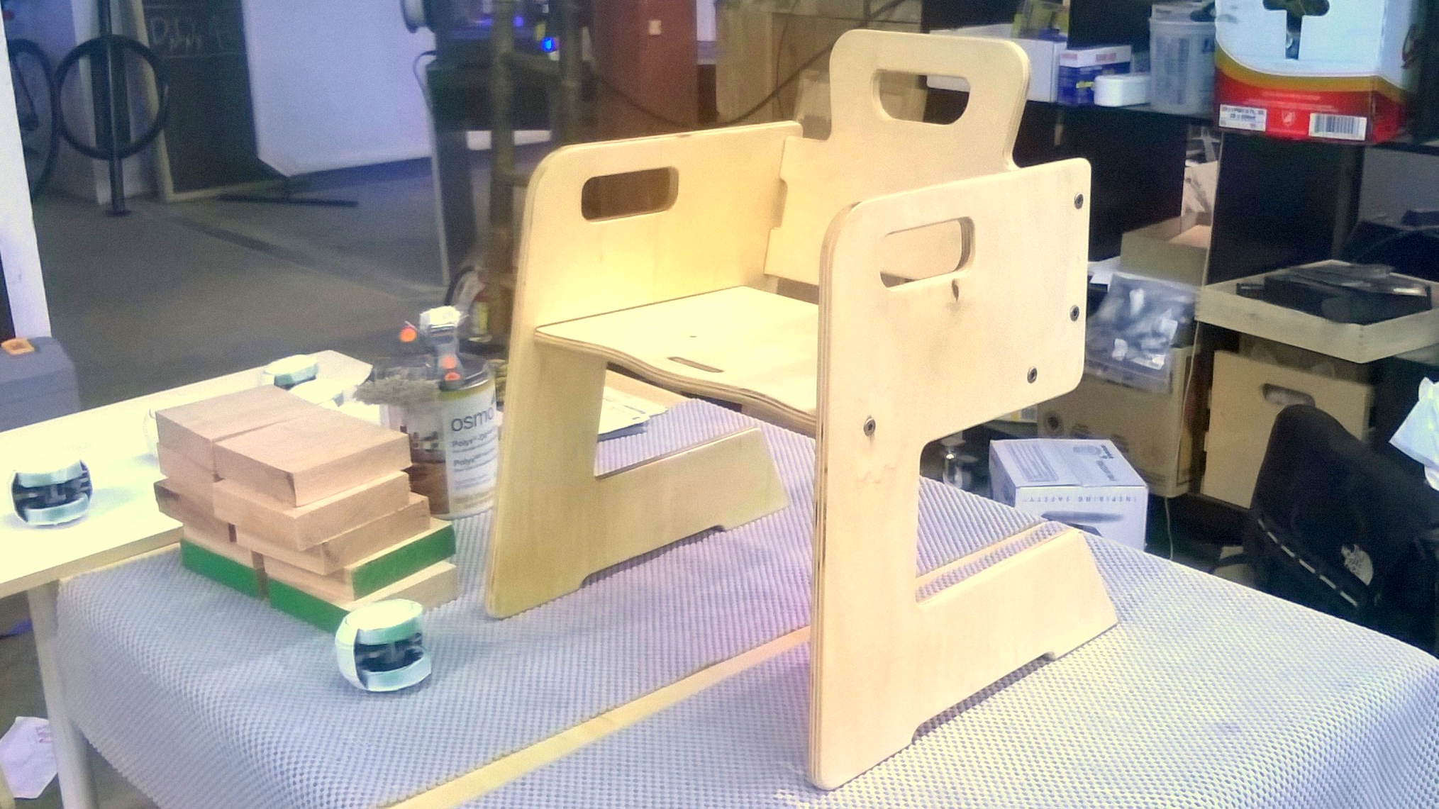 Larry Chair - Prototyping Stage 1