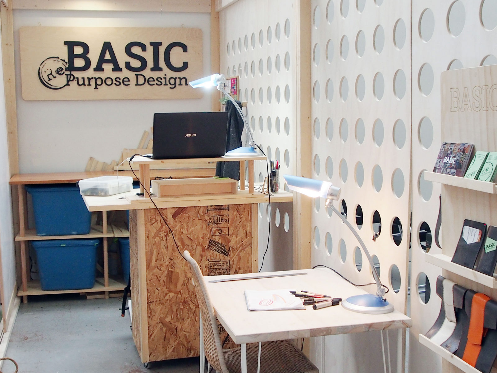 Konisa Studio - Space collaboration project with BASIC Design