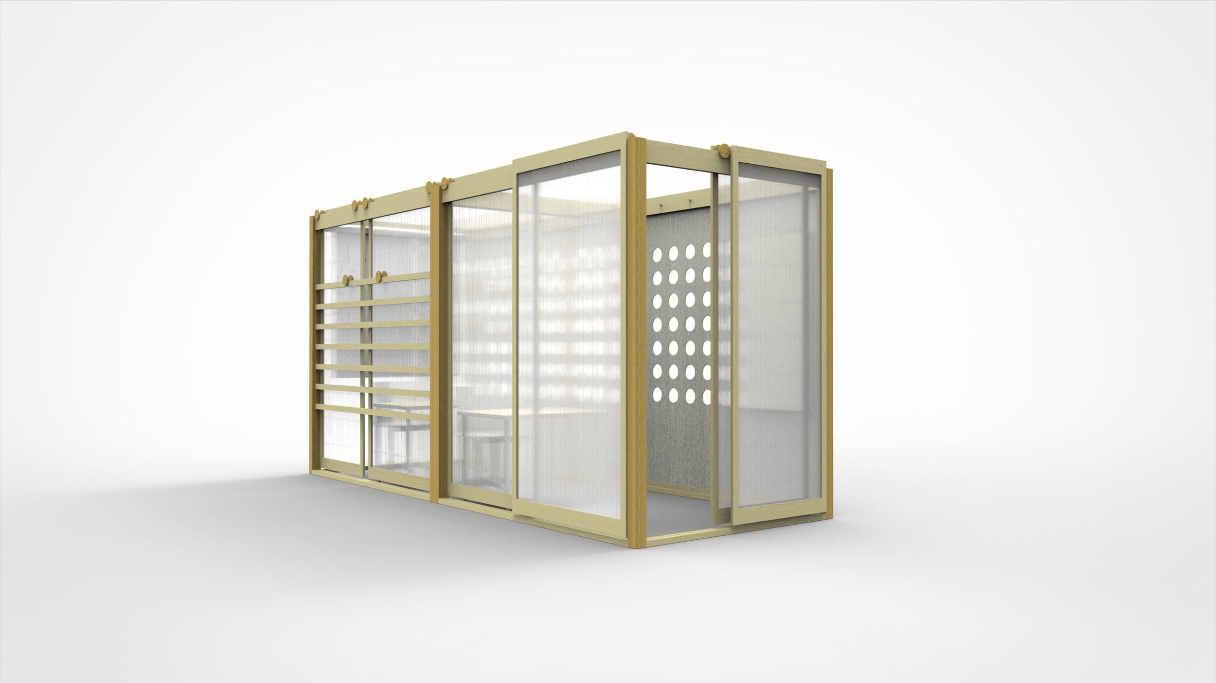 Konisa Studio | OBJEKT Series - Wube Smart Workspace - Studio Design for Tight Environments
