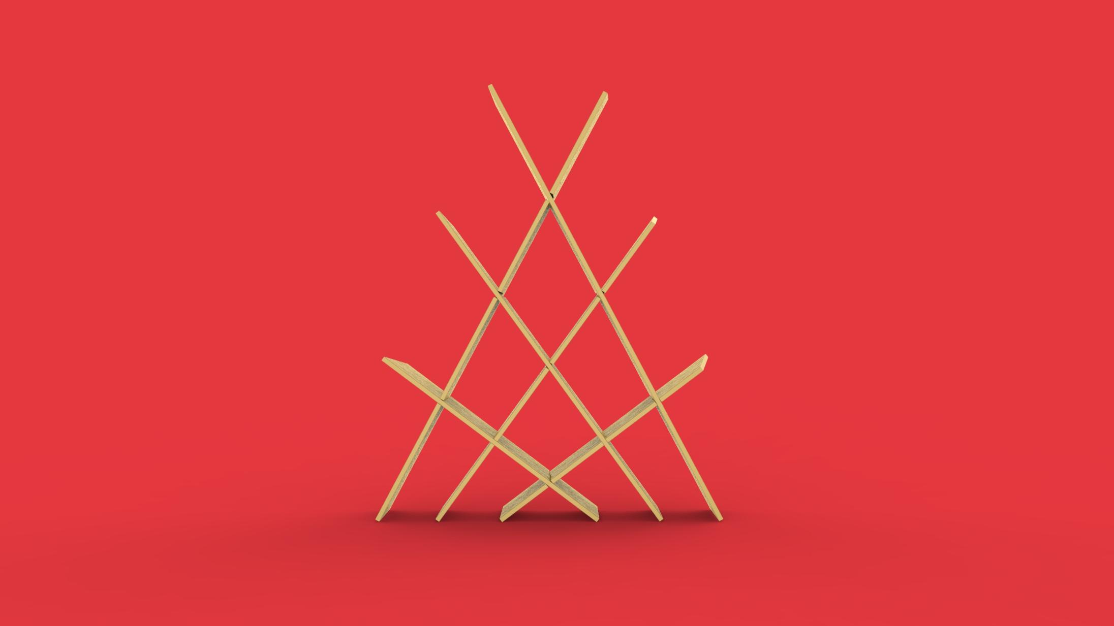 Konisa Studio - Memphis | Tensile Bookshelf