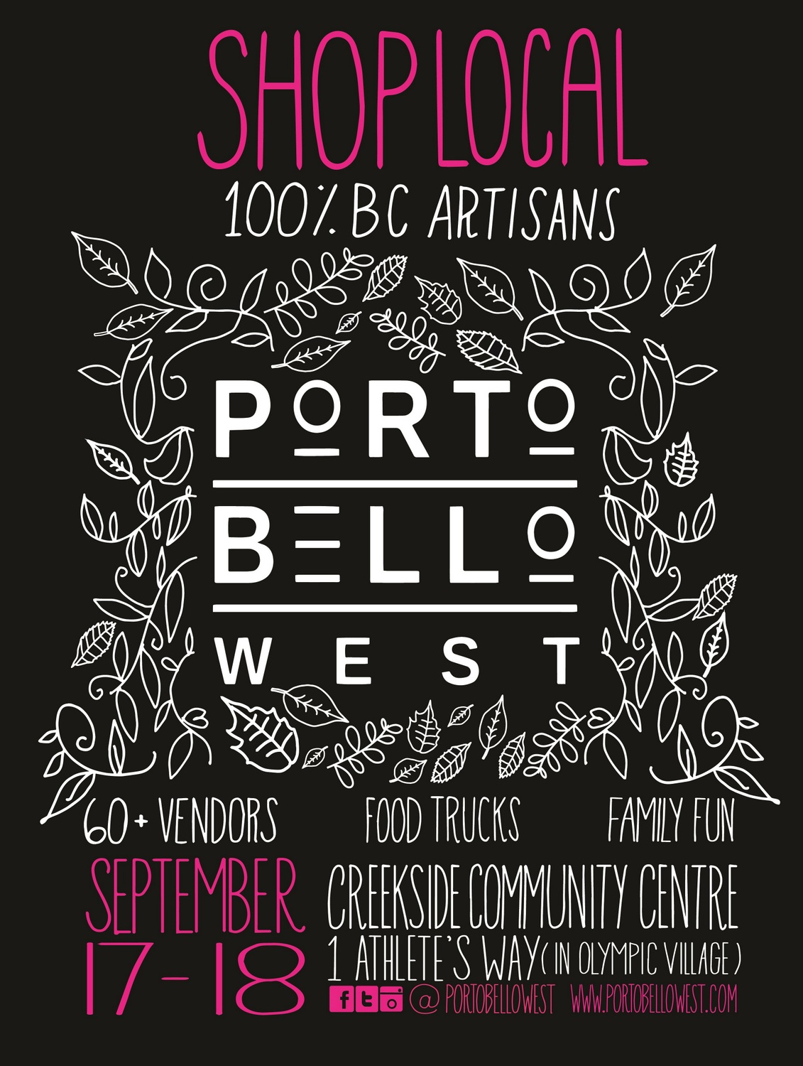 Portobello West - 10th Year Anniversary Poster