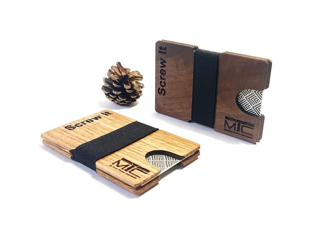 Cordova Business Card Holder With