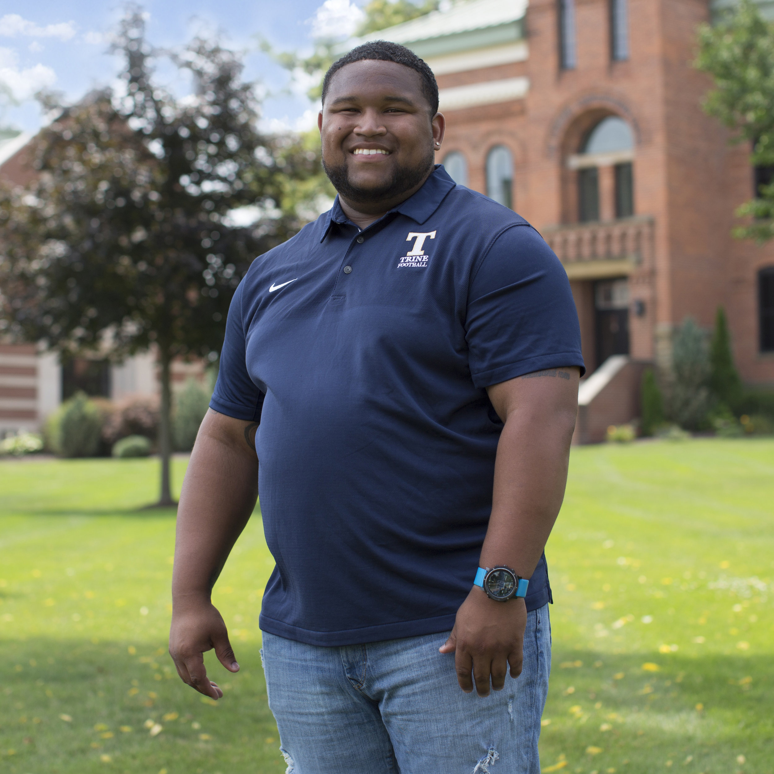 Desmon Davis   , Contemporary Scholar    Trine University | Class of 2019