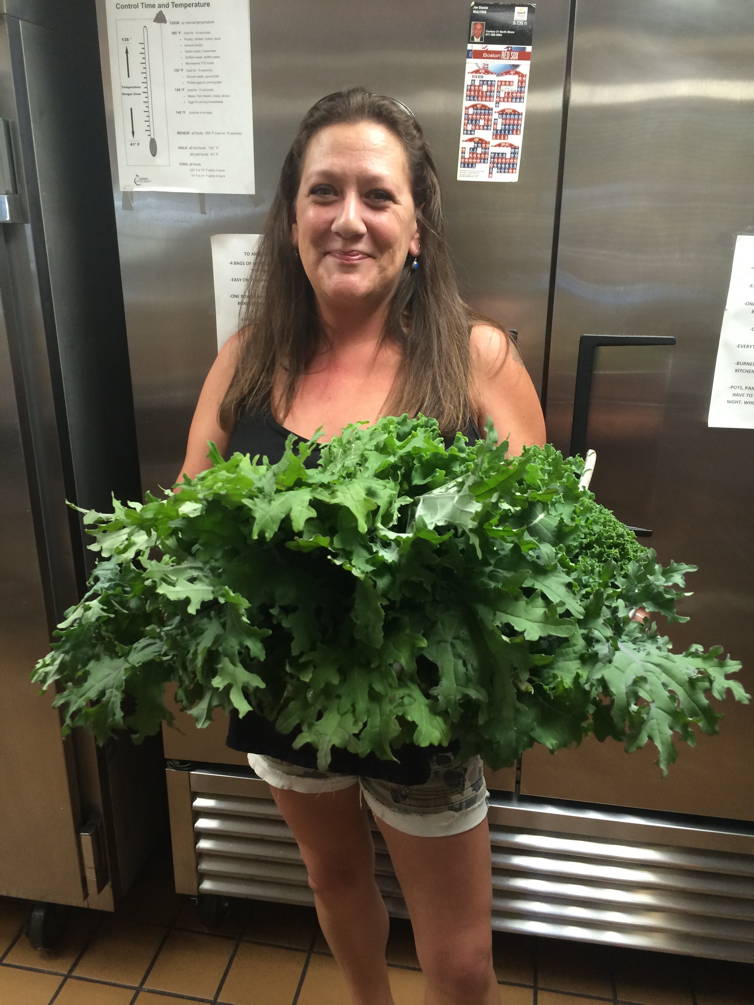 Fresh Produce for Dinner at Action Emergency Shelter