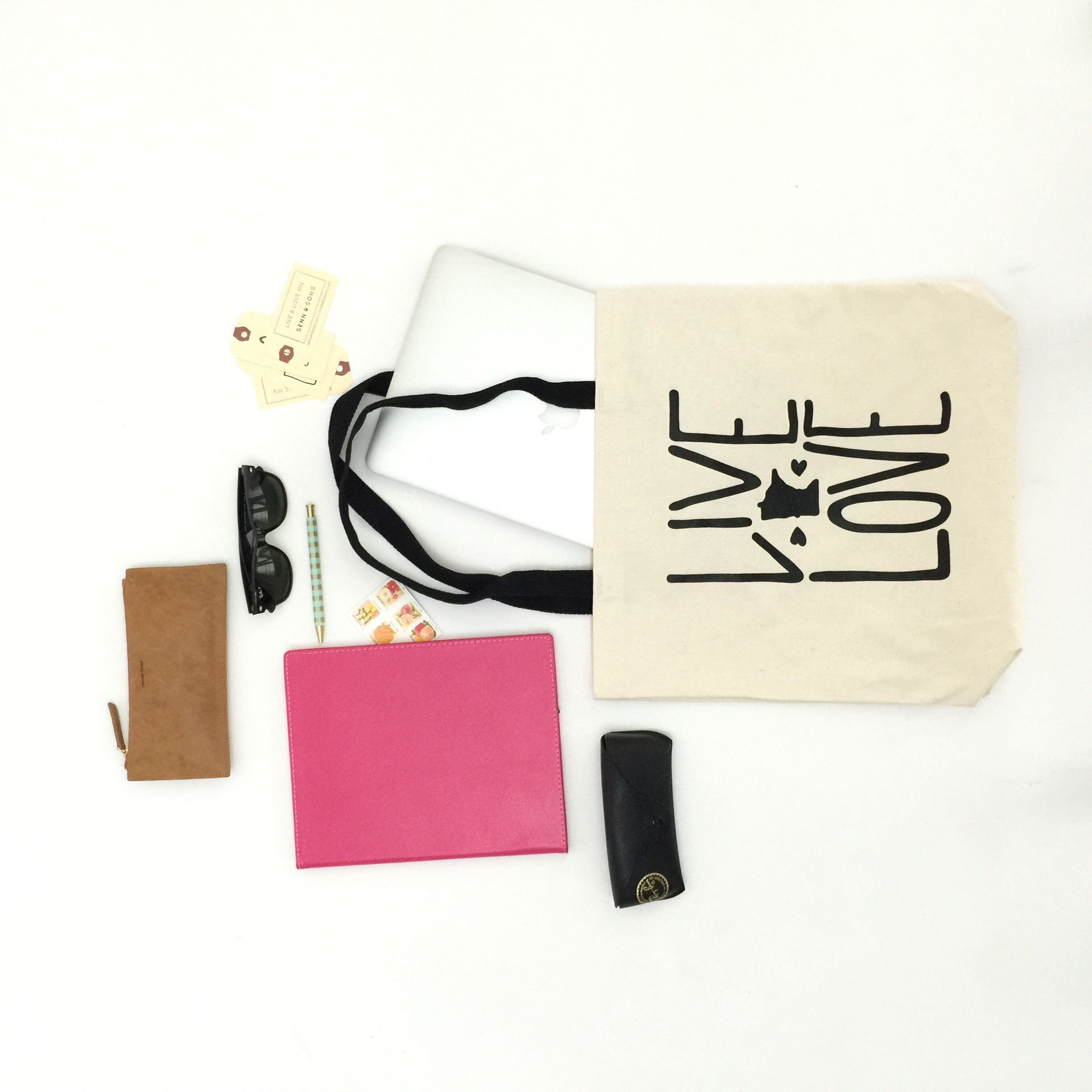 Carry-all tote for work