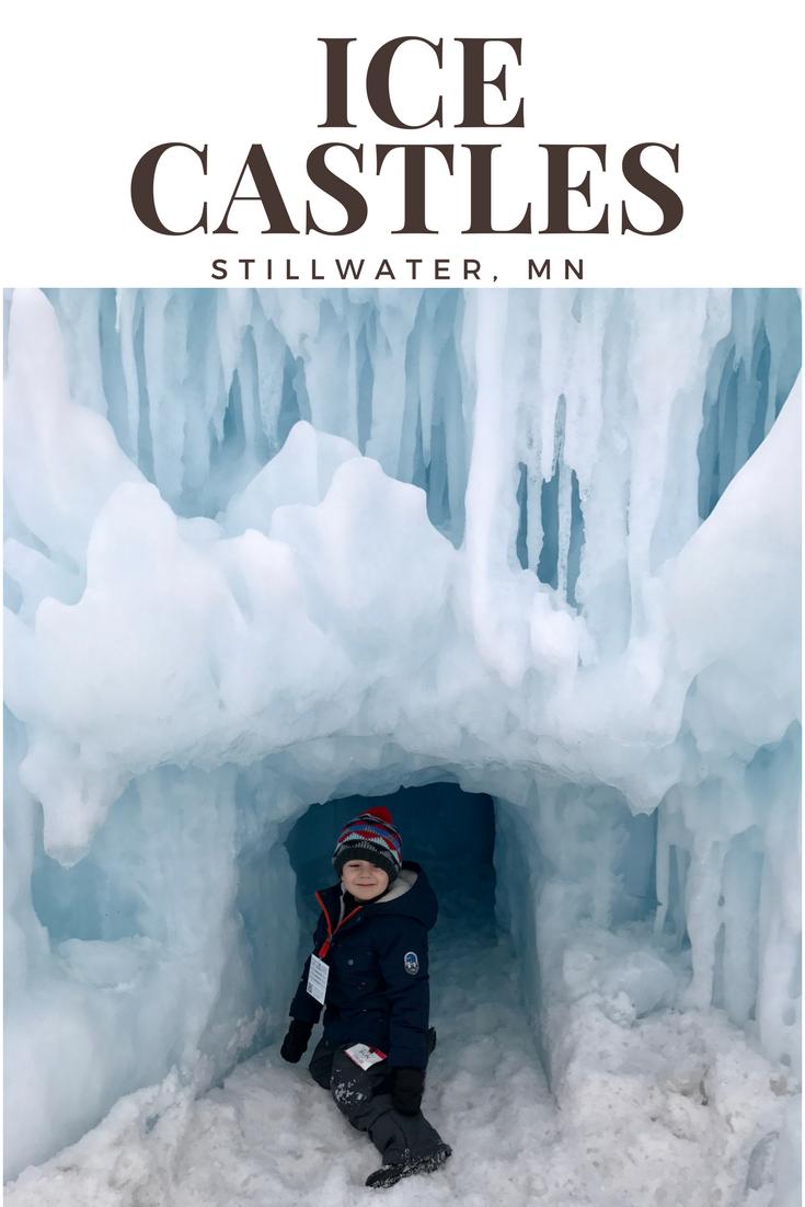 Ice Castles Stillwater, MN