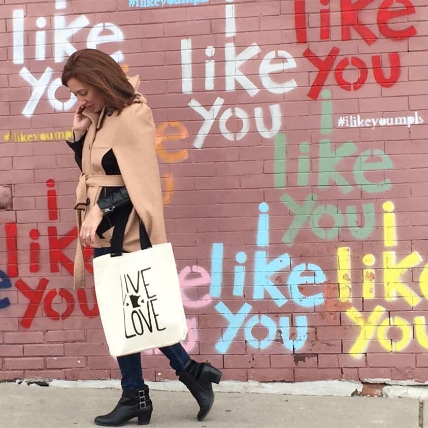 I Like you Wall | Live & Love MN