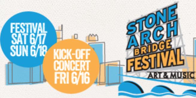Stone Arch Bridge Festival - June 15-17th, 2018