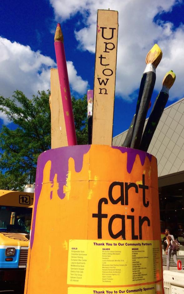 Uptown Art Fair - August 3-5th, 2018