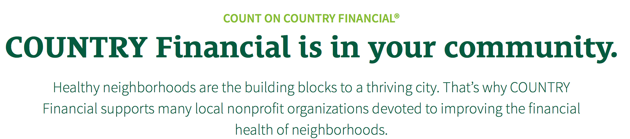 COUNTRY FINANCIAL MINNEAPOLIS