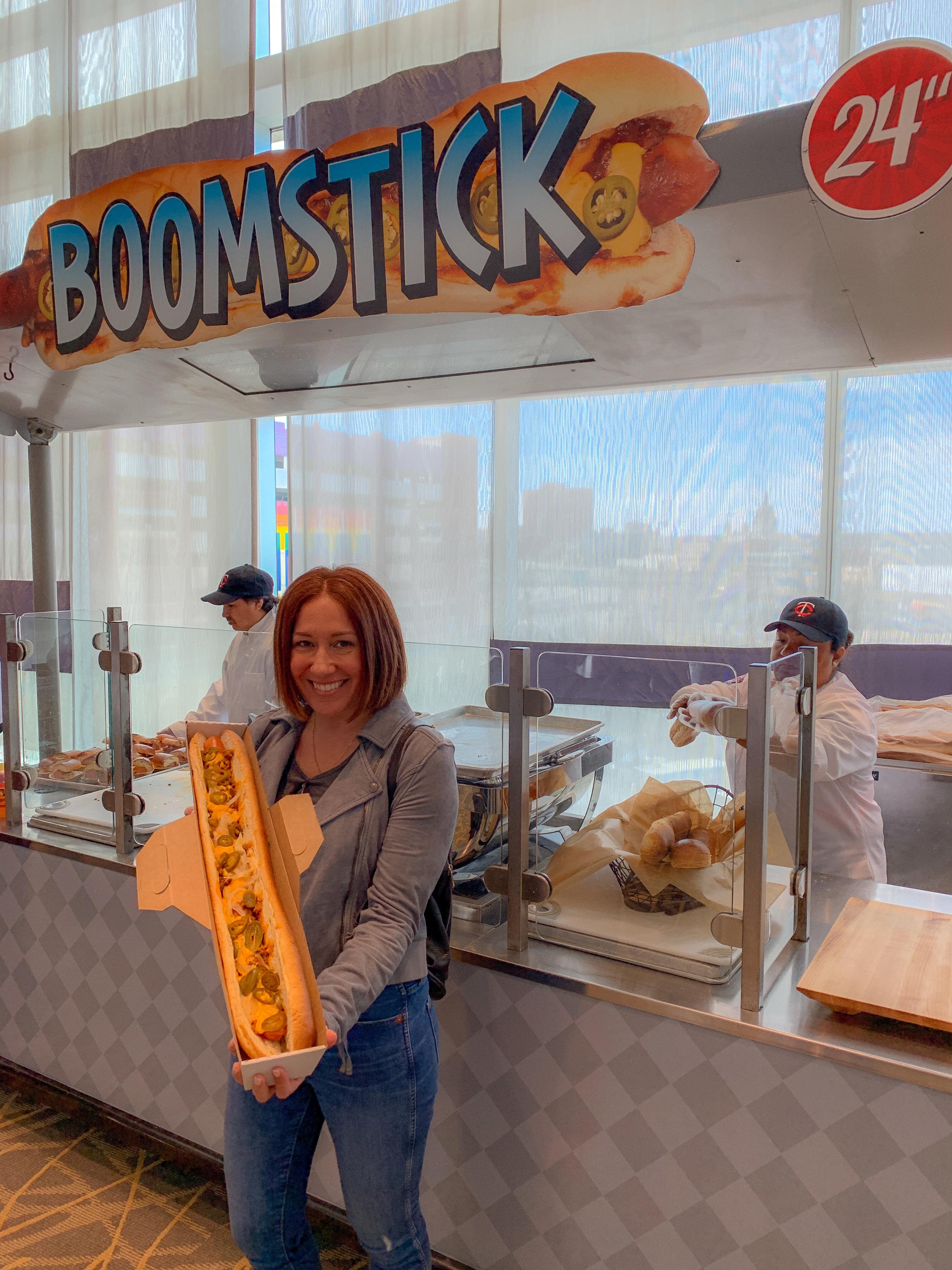 Broomstick 2' Hotdog
