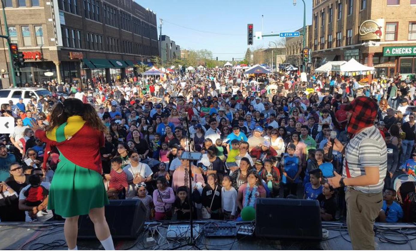 Photo courtesy of Cinco de Mayo Minneapolis Festival
