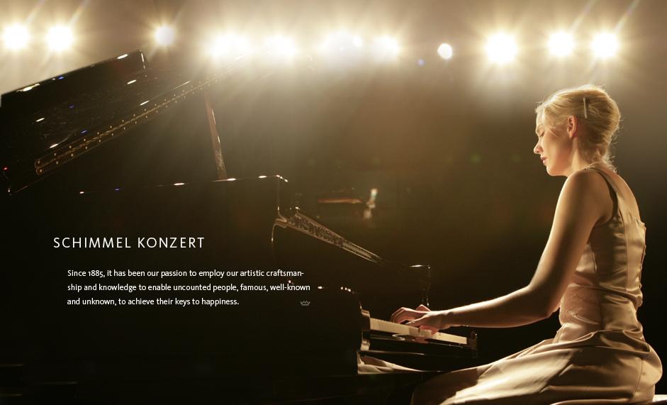 Schimmel Pianos Konzert Series