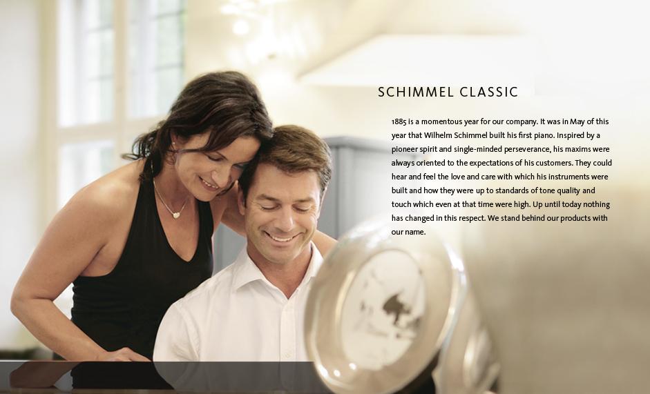 Schimmel Pianos Classic Series