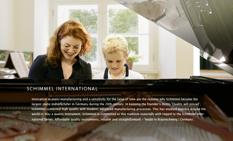 Schimmel Pianos International Series