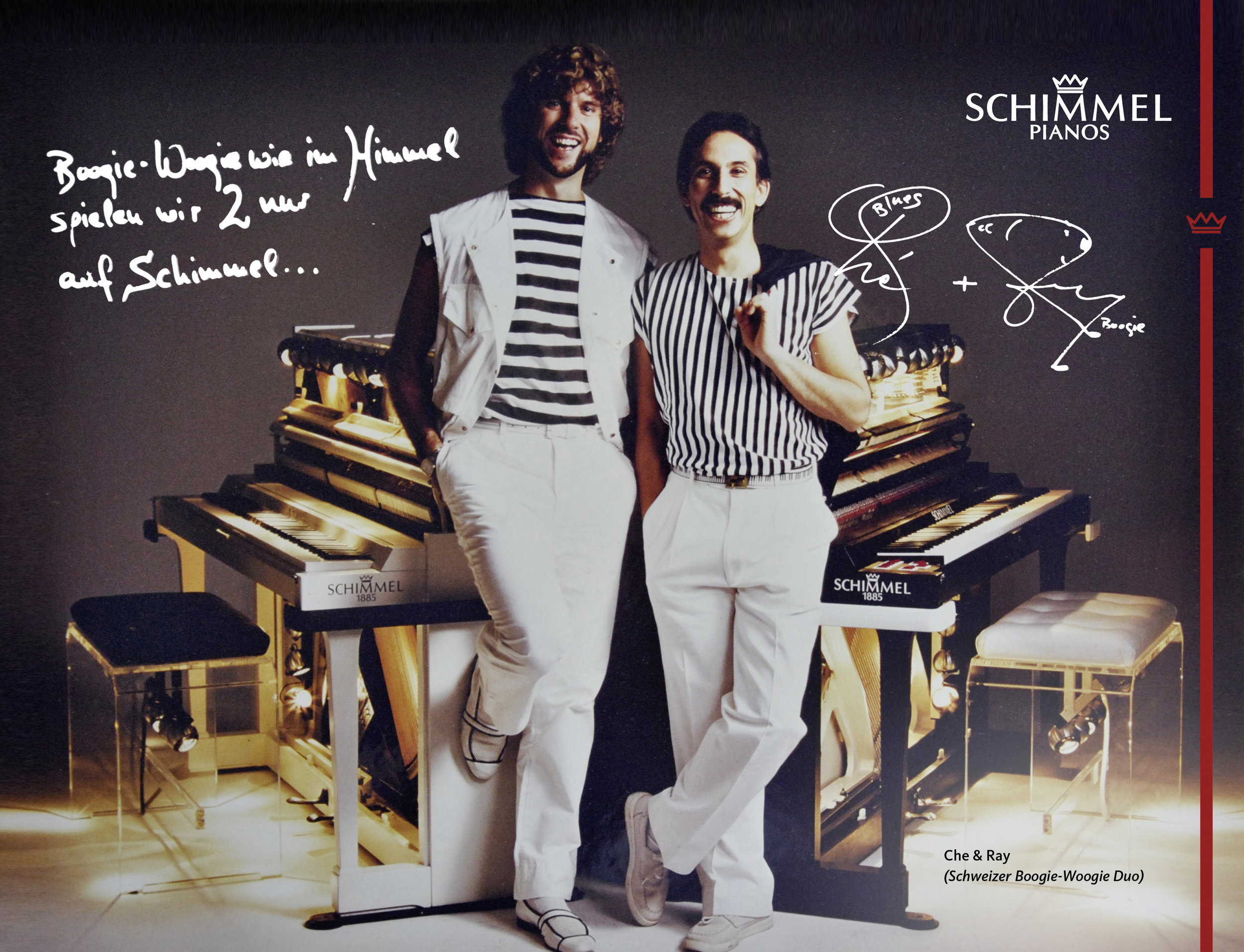 Che & Ray Schimmel Pianos