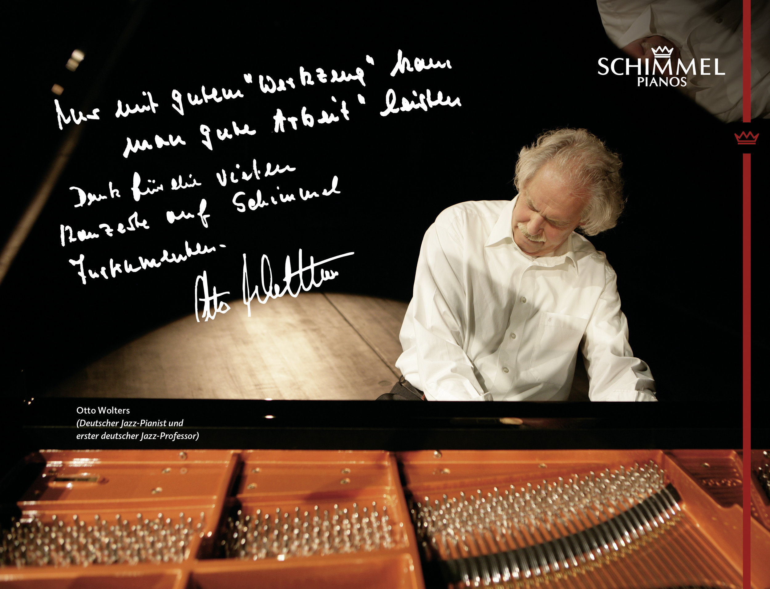 Otto Wolters Schimmel Pianos