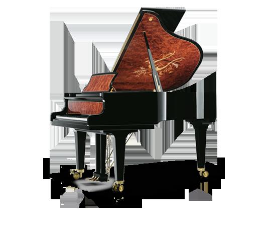 Schimmel Pianos Tradition Intarsie Harfe