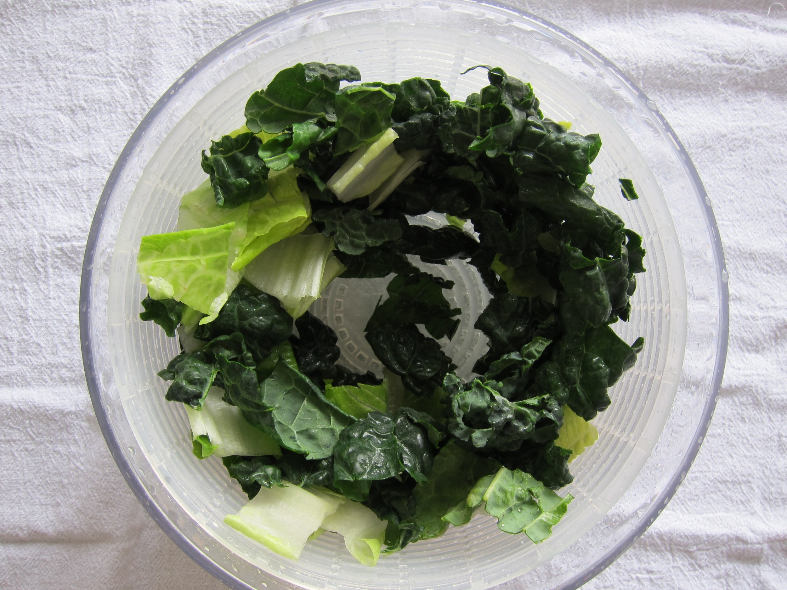 Kale and Romaine