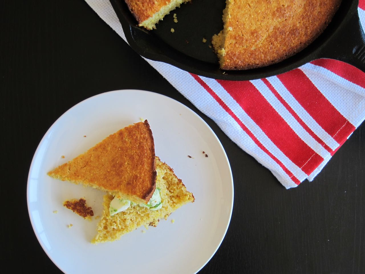 Cornbread with Jalapeno Butter