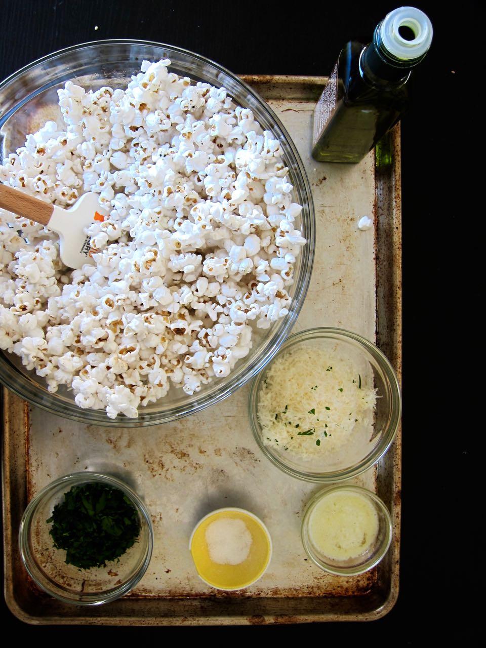 Truffle popcorn igredients