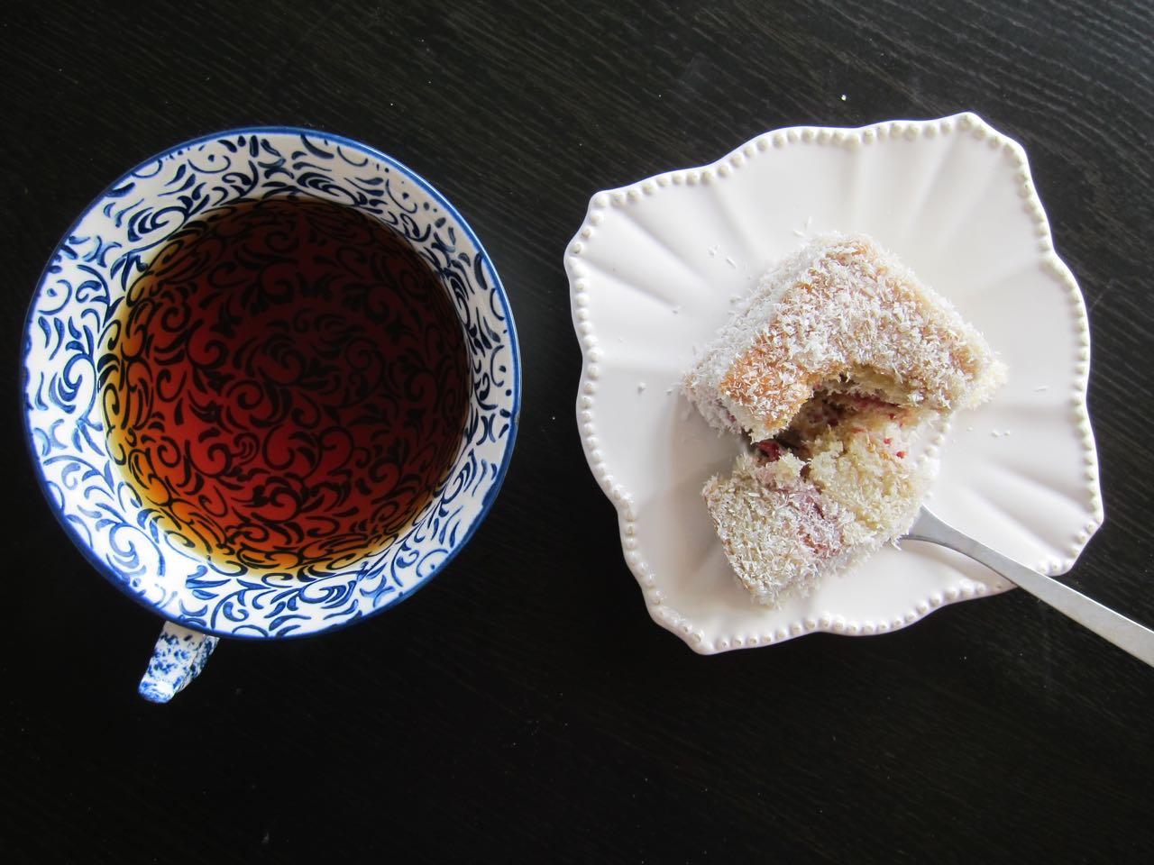 Lamington and Tea