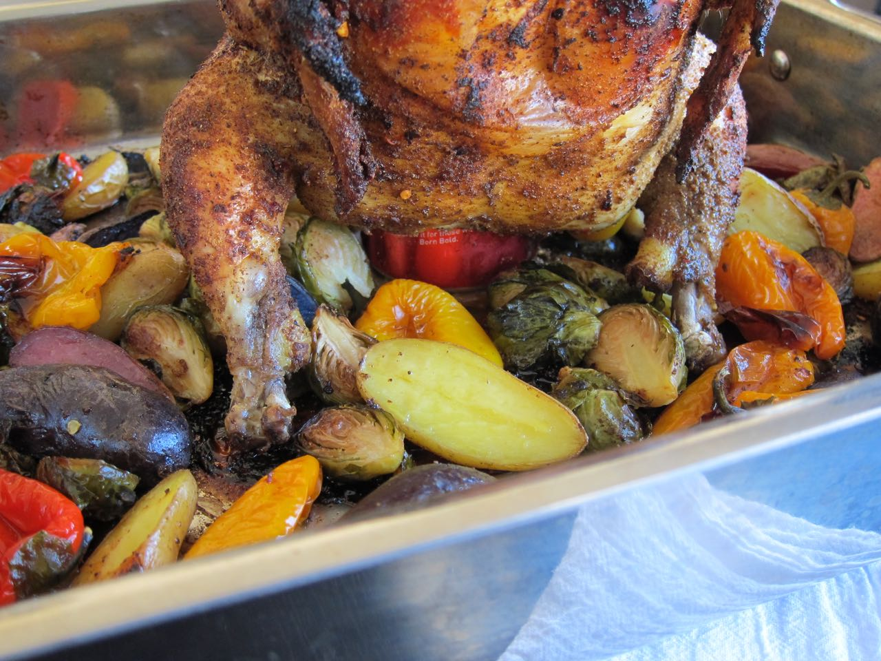 Oven Beer Can Roasted Chicken Tea And Fog