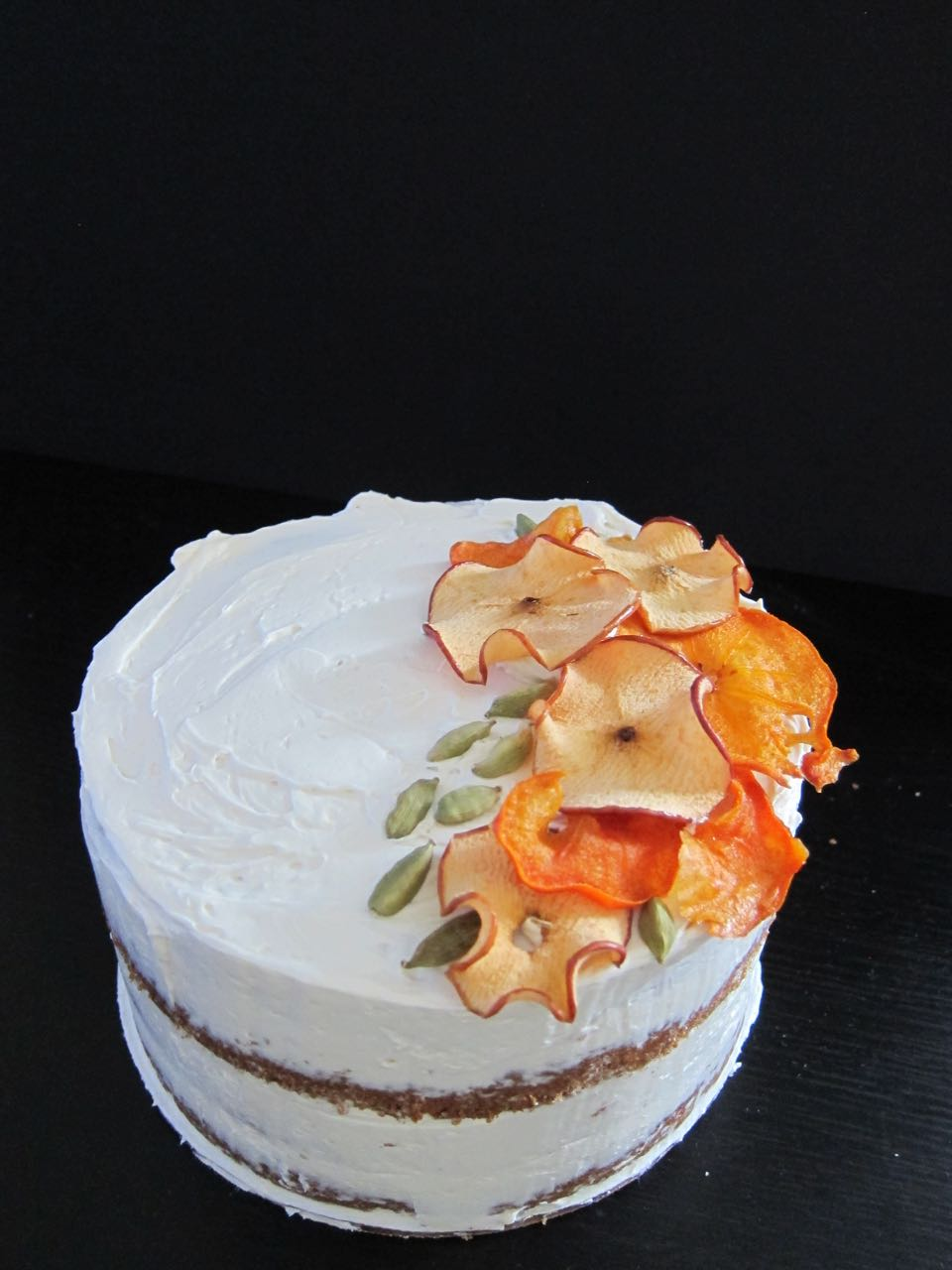 Apple Persimmon Cake