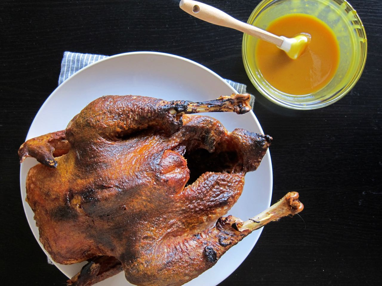 Low & Slow BBQ Roasted Chicken