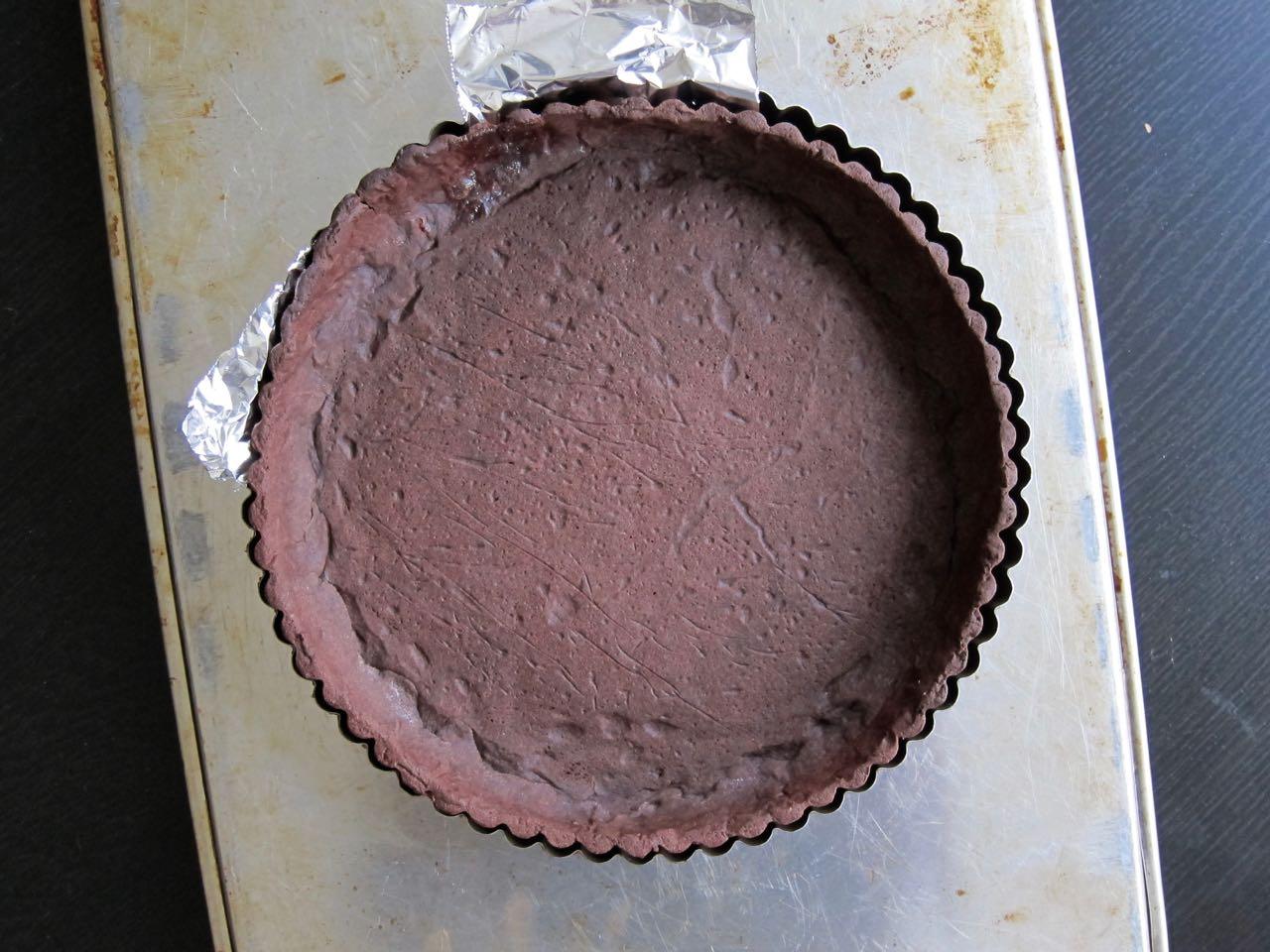 Chocolate Tart shell
