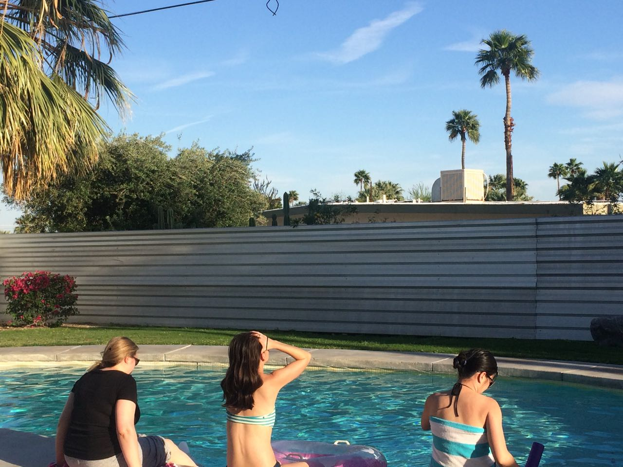 Poolside Palm Springs