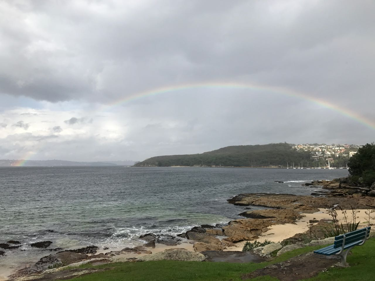 Rainbow over Manly