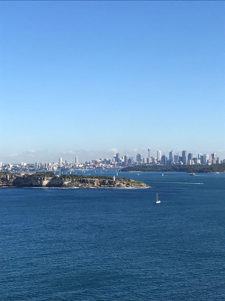 North Head view of Sydney