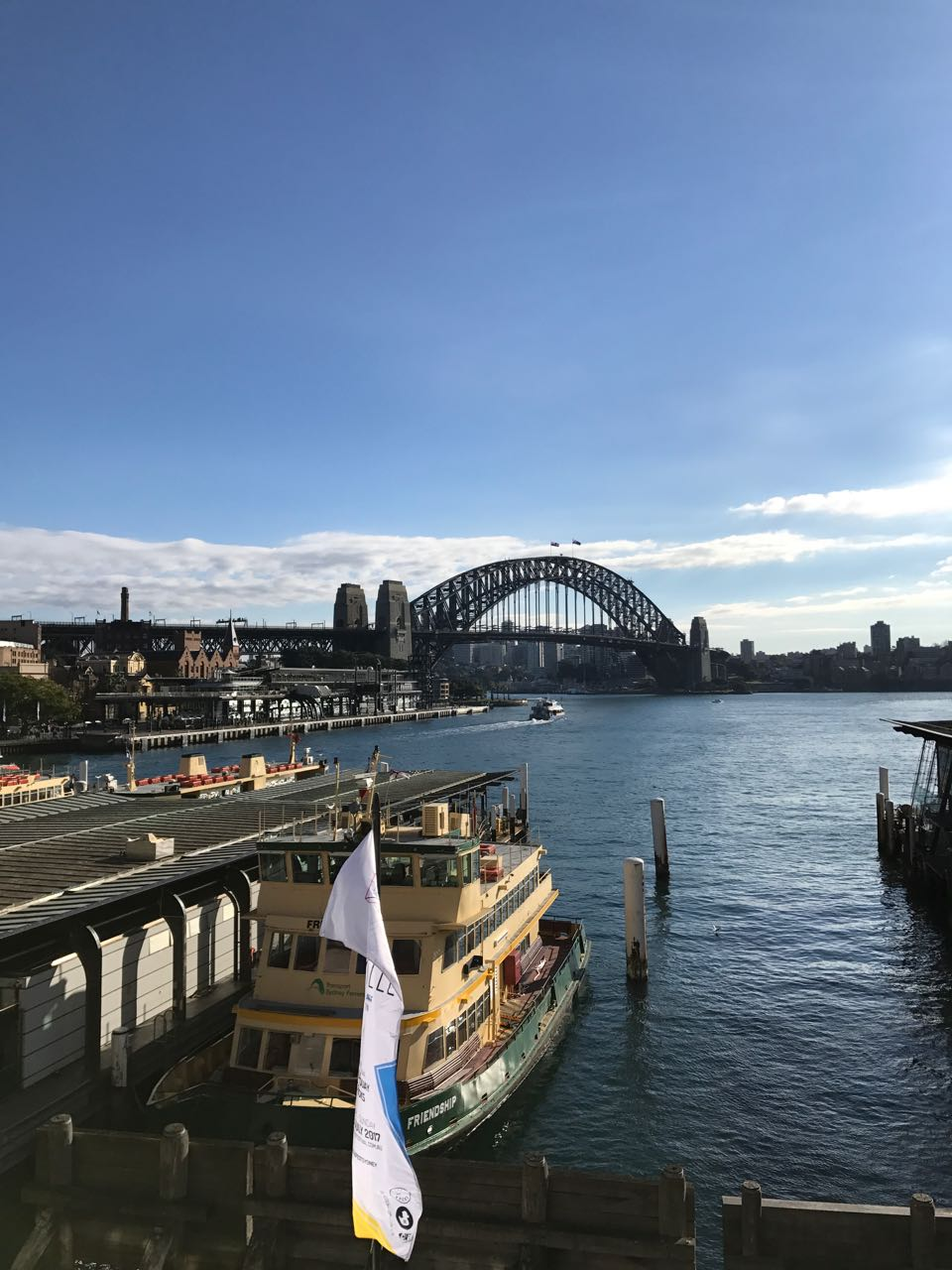 Sunny Sydney Harbour