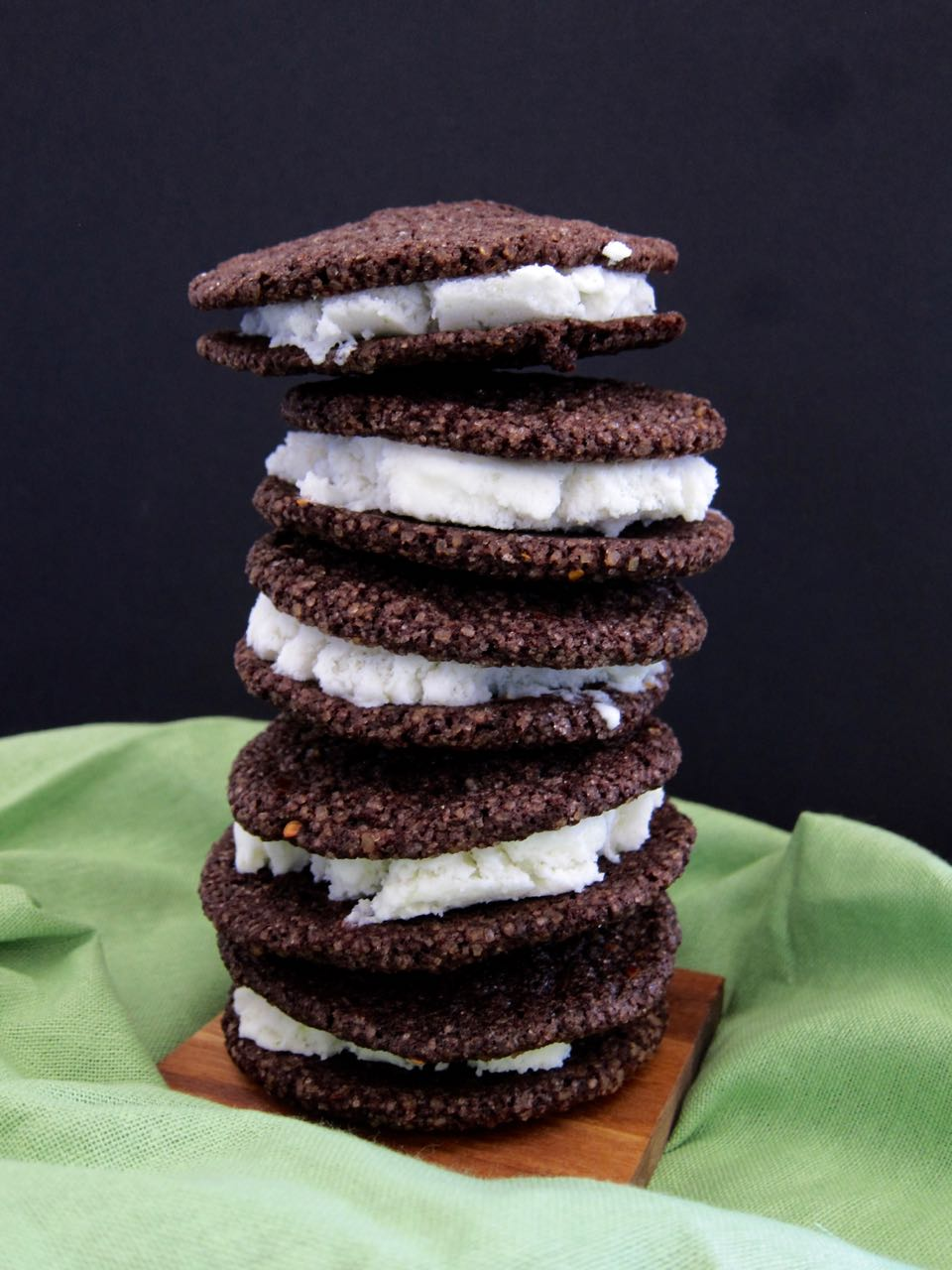 Chocolate Chile Lime Ice Cream Sandwiches