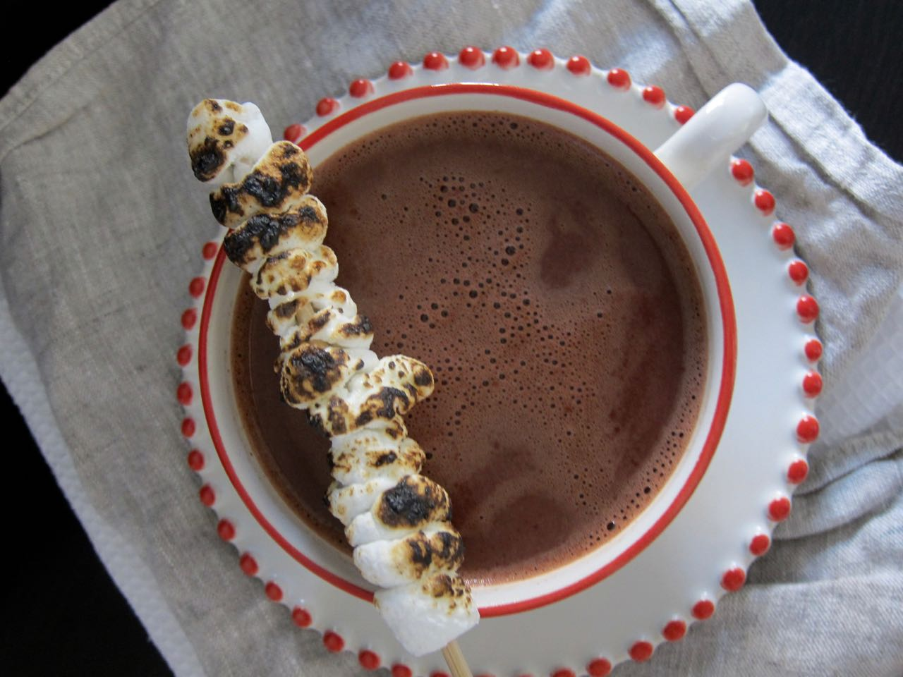 Smoky Lapsang Hot Chocolate