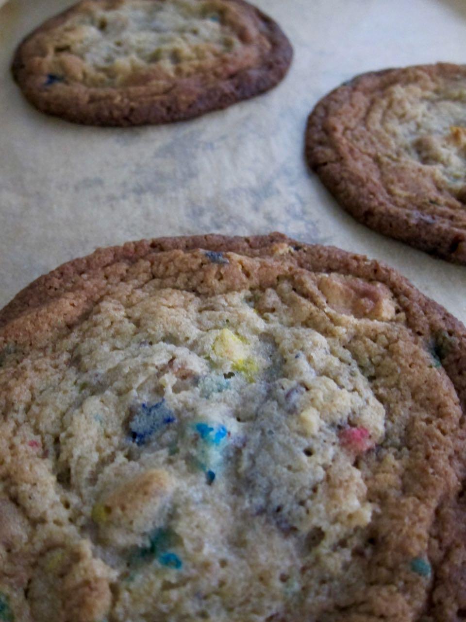baked garbage cookies