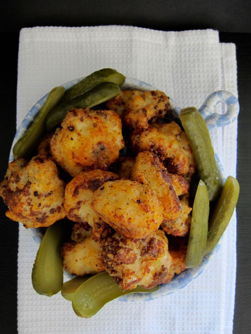 Hot Chicken Style Cauliflower