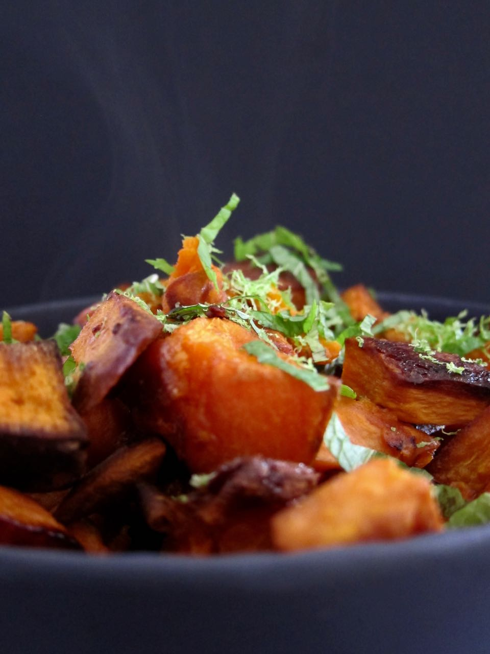 Coconut Lime Sweet Potatoes
